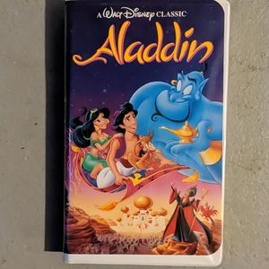Black diamond Aladdin VHS